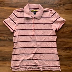 Prince and Fox girls stripes polo M